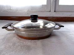 """Vintage 6 Pc Presto Pride Stainless Steel Pans Cookware 9.5"""" 9"""" 10.5"""" 10"""" + Lids #PrestoPride"""