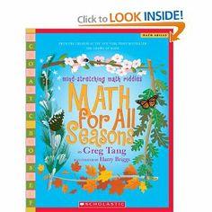 Math For All Seasons Mind Stretching Riddles Scholastic Bookshelf Greg