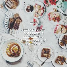 VSCO Filters for Food – VSCO FILTER HACKS Best Vsco Filters, Vsco Presets, Instagram Feed, Food Photography, Hacks, Photos, Glitch, Cute Ideas, Tips