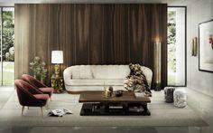 Contemporary design living room ideas  #homedecorideas #interiordesign #livingroomideas luxury homes, living room decor ideas, luxury design . See more inspirations at homedecorideas.eu/