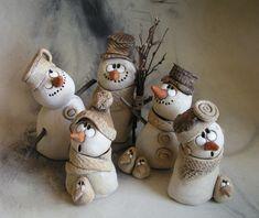 Hejno sněhuláků na přání...