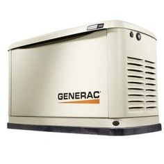 Generac Guardian Series WIFI Enabled (LP) / (NG) Standby Generator at Lowe's. As the selling home standby generator brand, Generac's® Guardian Series® generators provide the automatic backup power you need to protect Transfer Switch, Portable Generator, Power Outage, Protecting Your Home, Enabling, Panel Doors, The Help, Wifi, Home Goods