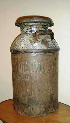 Milkcan originally from Oklahoma City