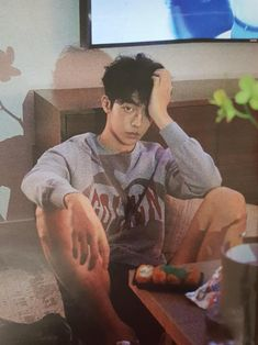 "this is the ""kaia we've already watched favOriTe 137 times it's can we go to sleep now"" look. Jong Hyuk, Kang Min Hyuk, Lee Jong, Joon Hyung, Hyung Sik, Asian Actors, Korean Actors, Nam Joo Hyuk Cute, Nam Joo Hyuk Wallpaper"