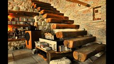 Stone House in Mount Pelion, by Dimitris Philippitzis-Stone House in Mount Pelio. Stone House in Mount Pelion, by Dimitris Philippitzis-Stone House in Mount Pelion, by Dimitris Philippitzis Stone Ho Design Your Dream House, House Design, Mediterranean Architecture, Stone Masonry, Rustic Stone, Mountain Homes, Stone Mountain, Stone Houses, Stairs