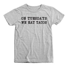 Taco Tuesday Kids Tri-Blend T-Shirt