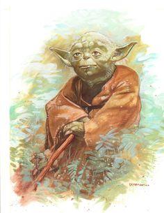 Star Wars - Yoda by Dave Dorman *