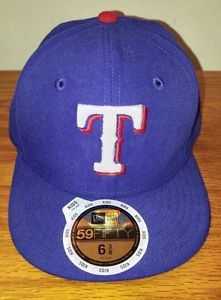 innovative design 49e84 d05c3 New Era 59Fifty Texas Rangers Kids YOUTH Baseball Game Hat 6 3 8 Fitted NWT  MLB