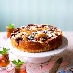 Apple and Blackberry Cake - Woman And Home