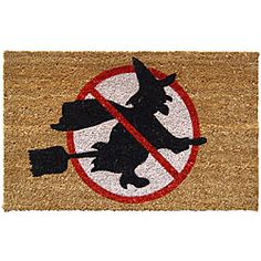 Witches Un-Welcome Non-slip Doormat