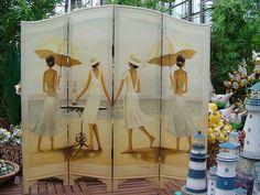 Декоративная ширма – изюминка любого интерьера