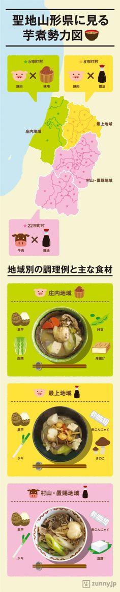 豚肉派、牛肉派…聖地・山形県の「芋煮」勢力図 | ZUNNY