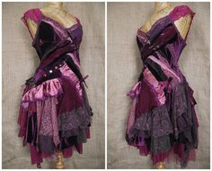 Victoria Plum dress by NaturallyBohemian on Etsy