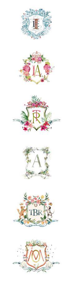 Custom crest design http://www.arabellajune.com