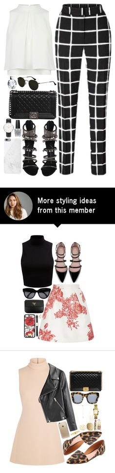 """#702"" by bella2015 on Polyvore featuring Giuseppe Zanotti, Native Union, Chanel, Daniel Wellington and OPI"