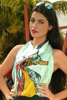 Marrero Collection's Boho Chic SeaHorse Square Silk Scarf #Scarves