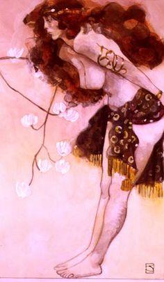 Jeffrey Catherine Jones (born Jeffrey Durwood Jones, January 1944 – May was an American artist whose work is best known. Illustrations, Illustration Artists, Figure Painting, Figure Drawing, J Jones, John Bauer, Michael Williams, Frank Frazetta, Female Art