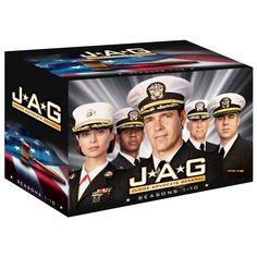 JAG - Im Auftrag der Ehre - Die kompletten Staffeln 1-10 Sammelbox EU-Import Deutsch & Englisch: Amazon.de: David James Elliott, Catherine Bell, Patrick Labyorteaux: DVD & Blu-ray
