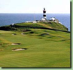 Old Head Golf Links in County Cork, Ireland.