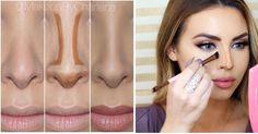 Contorno para una nariz más pequeña y afinada, ¡aprende cómo hacerlo!