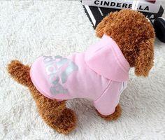 Soft Cotton Puppy Dog Clothes - Adidog