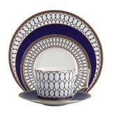 Found it at Temple & Webster - Renaissance 5 Piece Fine Bone China Place Setting Set in Gold
