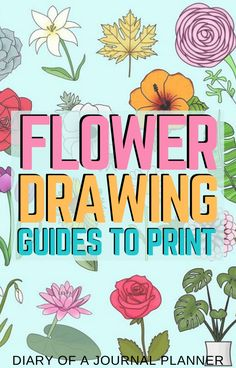 Make your planner pages look beautiful with these stunning flower doodle tutorials! #flower #planneraddict #plannerideas #flowerdoodles #doodleideas #howtodoodle Easy Doodles Drawings, Easy Flower Drawings, Flower Drawing Tutorials, Cool Doodles, Simple Doodles, Drawing Flowers, Drawing Ideas, Great Doodle, Easy Doodle Art