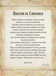 ORACIONES - El Sembrador Ministries