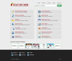 Statmyweb provides detailed statistics for websites and lets you explore site info along with its history.