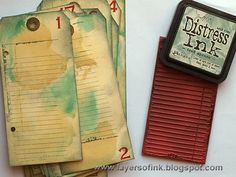 Layers of ink: Christmas Daily Worn Journal