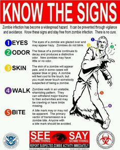 Know the signs!