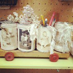 krys kirkpatrick design ~ recycled cans