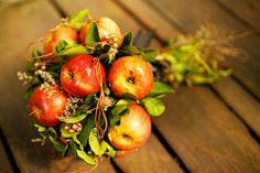 Ramos de novia con frutas