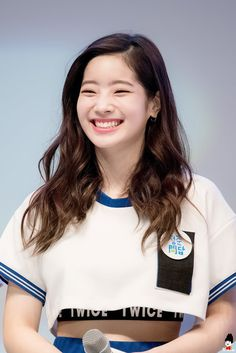 Look at that smile💕 Nayeon, Kpop Girl Groups, Korean Girl Groups, Kpop Girls, Extended Play, Daehyun, Rapper, Twice Once, Twice Dahyun