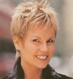Hairstyle Layered Hair Styles For Short Hair Women Over 50 - Bing Images Short Thin Hair, Very Short Hair, Short Hair With Layers, Short Pixie, Thick Hair, Straight Hair, Pixie Cuts, Wavy Pixie, Curly Short