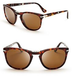 persol-brown-foldable sunglasses.     best I ever bought.
