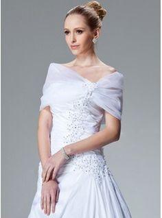 Wraps - $35.99 - Organza Wedding Wrap  http://www.dressfirst.com/Organza-Wedding-Wrap-013004167-g4167