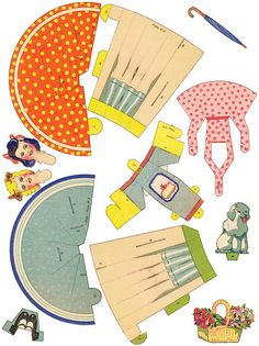 (JPEG) Some free Retro Paper Dolls <3...........•❤° Nims °❤•