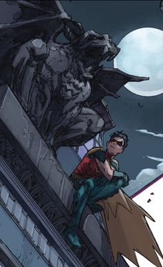 """""""My best friend growing up.. wasn't much of a talker."""" Red Hood and the Outlaws #8."""
