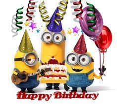 boldog születésnapot minions - Google Search