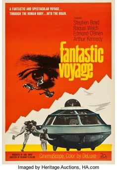 "Movie Posters:Science Fiction, Fantastic Voyage (20th Century Fox, 1966). One Sheet (26"" X 37.5"")Advance.. ..."
