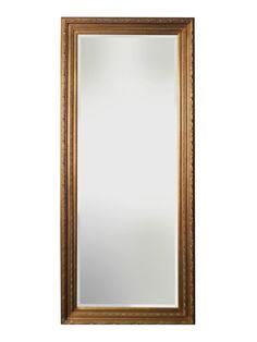 Spiegel - Anna- antiek goud - buitenmaten breed 78 cm x hoog 108 cm.