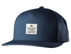 Navy Standard Issue Snapback Cap by EMERICA