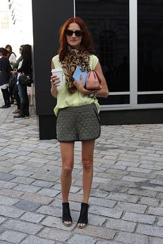 Accessories director for US Marie Claire magazine, Taylor Tomasi Hill.
