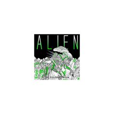 Alien : The Coloring Book (Reprint) (Paperback)