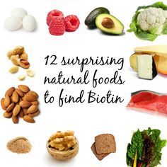 Sit back and discover these 12 natural surprising foods to find Biotin to eat your way to long, healthy hair. Biotin is a vitamin B essential for hair growth and overall scalp health. Biotin deficiency can cause hair loss as well as thin, brittle and splitting hairs, it has been used to treat alopecia and strengthen …
