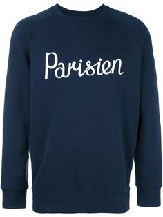 Get your new season wardrobe started with this Maison Kitsuné 'Parisien' sweatshirt, shop now at Farfetch