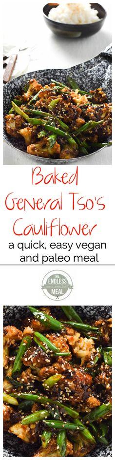 General Tsos Cauliflower | The Endless Meal