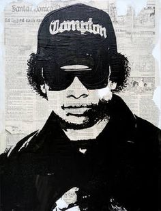 "Saatchi Art Artist Erick Laubach; Painting, ""Straight Outta Compton"" #art"
