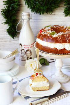 Roscon de Reyes (Spanish King's Cake).